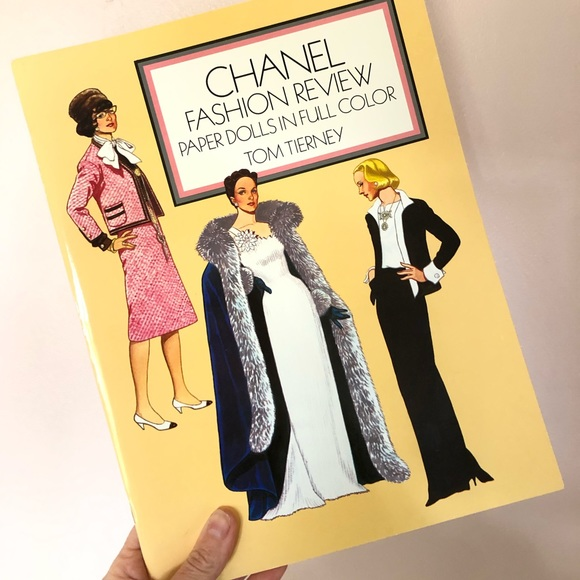 CHANEL Other - Vintage CHANEL Fashion Review Paper Dolls NEW 2000